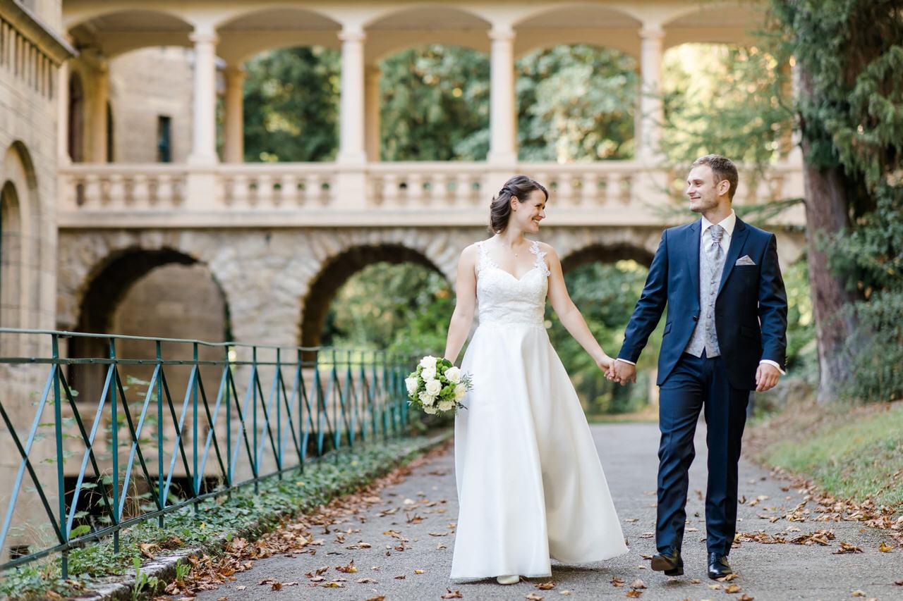 Hochzeit im Wildbad Rothenburg